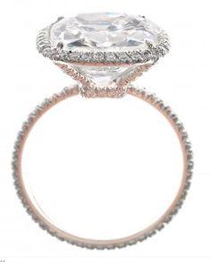 Harry Winston Cushion-Cut Ring