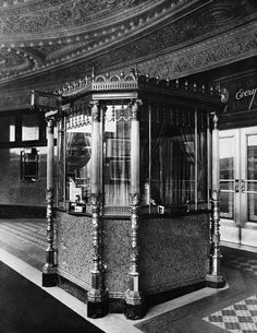 Fox Theatre ticket booth