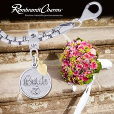 Bride Charm to celebrate the Big Day from Rembrandt Charms