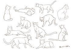 【自己流】犬と猫の描き方 [6]