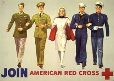 Join!  Vintage Red Cross Ad