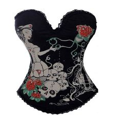 JL Naughty Nurse Skull Roses Corset Hook up Night Club Bustier Top UK(10-12) L. Padded Bustier with adjustable straps,Designed to lift and support the bust and flatten the tummy. Party/Wedding/Show/Clubwear Corset. refund or exchange will be given. Black Tattoo Ink Basques Corsets Top Punk Rock Chick Glam Gothic Fetish. Only Hand Wash Do Not Used Machine.