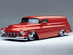 1957 Custom Chevy Panel Truck