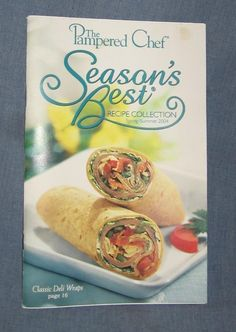 Pampered Chef Season's Best Spring/Summer 2004 Recipe Collection