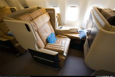 Singapore Airlines' Business Class