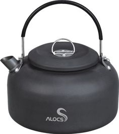 Alocs Outdoor Kettle Camping Cookware Water Pot 1.4l 210g - check it out at... http://backpackingandcampingessentials.com/camping-kettles/alocs-outdoor-kettle-camping-cookware-water-pot-1-4l-210g/
