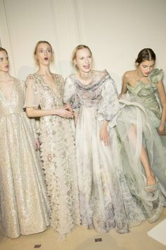 { Valentino Couture Spring Backstage }