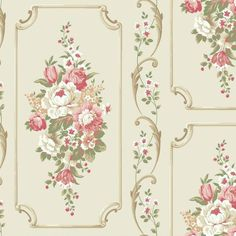 BA4501 Floral Panel by York