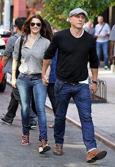 Rachel Weisz and Daniel Craig in New York City