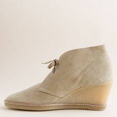 MacAlister wedge boots : wedges | J.Crew