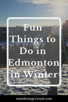 16 fun and exciting activities to do in Edmonton Alberta Canada this winter including awesome hikes, seeing the Northern Lights and wild life sightings! Northern Lights Canada, See The Northern Lights, Alberta Travel, Stuff To Do, Things To Do, Western Canada, Visit Canada, Alberta Canada, Travel List