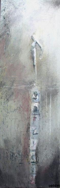 acrylique sur toile. 50/100cm
