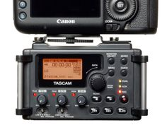Amazon.com: TASCAM DR-60D Linear PCM Recorder for DSLR Filmmaking and Field Recording: Camera & Photo