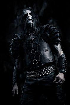 LORD AHRIMAN of Dark Funeral (Guitars/Founder) Photo by Michaela Barkensjö (Sinners Art)