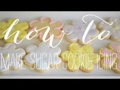 Video: How to Make Sugar Cookie Icing - Cupcakes & Cashmere