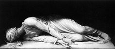 St. Cecilia - Note the 3 extended fingers, proclaiming her belief in the Trinity, even in death.