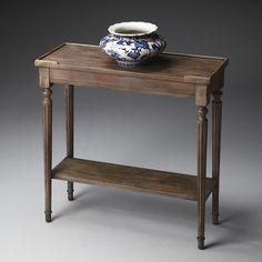 Butler Specialty Company 7036248 Masterpiece Console Table in Dusty Trail, Transitional Wood Console Table, Wood Console Table, Table, Entryway Furniture, Furniture, Accent Furniture, Sofa Tables, Table Furniture, Wooden Console Table