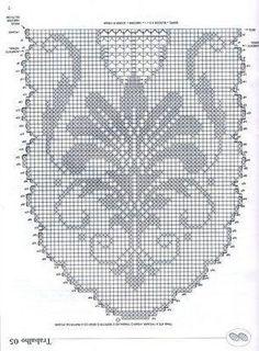 World crochet: Tablecloth 83 liberty runner crochet filet Crochet Table Runner Pattern, Crochet Doily Diagram, Crochet Bikini Pattern, Filet Crochet Charts, Crochet Lace Edging, Crochet Tablecloth, Oval Tablecloth, Crochet Doilies, Crochet Patterns