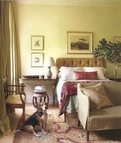 Julia Reed's New Orleans home (September, Elle Decor) - designed by Thomas Jayne