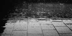 While the Rain Dancing