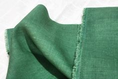 Pure Linen Green per Yard 802300 by landofoh on Etsy, $16.50