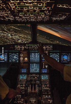 In the cockpit. The Effective Pictures We Offer You About civil Aircraft A quality picture can tell you many things. You can find the most beautiful pictures that can be presented to you about A Jet Privé, Airplane Wallpaper, Airplane Photography, Its A Mans World, Commercial Aircraft, Commercial Plane, Flight Deck, Travel Aesthetic, Aesthetic Design