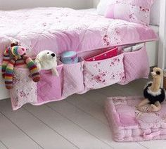 bedside organizer for kids!  I need this NOW!
