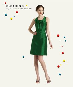 kate spade dress in emerald
