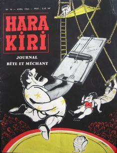 Hara Kiri - # 16 - Avril 1962
