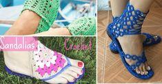 Chancletas personalizadas con crochet - e-Consejos