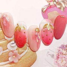 Bling Nails, 3d Nails, Cute Nails, Nail Swag, Japan Nail Art, Hello Kitty Nails, Manicure, Nail Effects, Kawaii Nails