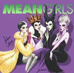 Villainous Mean girls