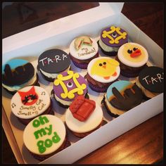 Friends Themed Cupcakes