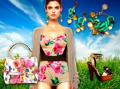 corsetto dolce & gabbana collection 2013 floreale - Cerca con Google