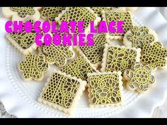 CHOCOLATE LACE COOKIES, HANIELA'S - YouTube