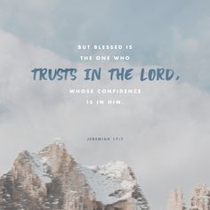 Jeremiah blessed is the one who trusts in the Lord, Bible verse memes Scripture Verses, Bible Verses Quotes, Bible Scriptures, Faith Quotes, Grace Quotes, Inspirational Scriptures, Healing Scriptures, Healing Quotes, Heart Quotes
