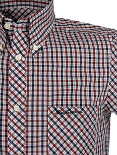 Ben Sherman button down fitted shirt.