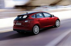 2012 All New Ford Focus Red HD