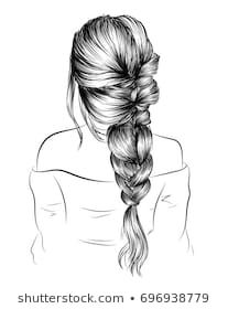 Explore high-quality, royalty-free stock images and photos by Moschiorini available for purchase at Shutterstock. Pencil Art Drawings, Art Drawings Sketches, Canvas Painting Tutorials, Hair Sketch, Girly Drawings, Front Hair Styles, Geometric Drawing, Autumn Photography, Black Women Art