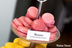 Macarons Füllung Himbeere & Weiße Schokolade | Madame Dessert