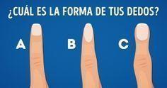 Qué dice de ti la forma de tus dedos