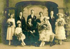 My Maternal Grandparents Edward George Wohlust to Helen E. Ultsch at St. John's Lutheran Church, Racine WI April 16