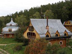 House in Yazovo, West Siberia, Russia