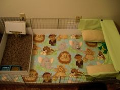 """Most guinea pig owners don't realize that there is another option for a guinea pig cage that is not only cheaper, but more comfortable overall for the guinea pig. A step by step tutorial with photos shows how to build a """"C&C"""" cage for a cavy."""