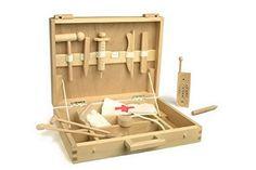Toller Arztkoffer aus Holz - super Weihnachtsgeschenk für Kinder.