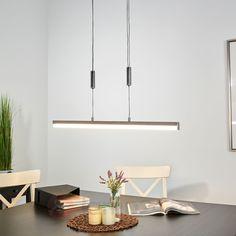 Kromglänsande LED-pendellampa Cäcilie | Lamp24.se