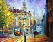 1917 - LARGE SIZE Limited Edition High Quality Artistic Print on Cotton Canvas by Leonid Afremov
