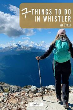 From mountain hiking to thriling ziplines, enjoying autumn in Whistler is an ideal escape. Check out our 7 favorite things to do in Whistler during fall. #whistler #fall #explorebc #whistlerinfall #whistlerbc West Coast Cities, Places To Travel, Travel Destinations, Cities In Europe, Travel Europe, British Columbia, Columbia Travel, Vancouver Travel, Fun Fall Activities