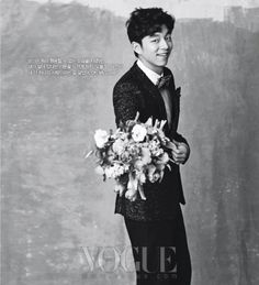Gong Yoo - Vogue Magazine December Issue '10