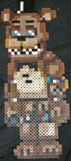 five nights at freddy's perler - Google Search